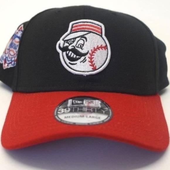 timeless design 9168f 0c55b Men s New Era Cincinnati Reds 39Thirty Sz M L Cap. NWT